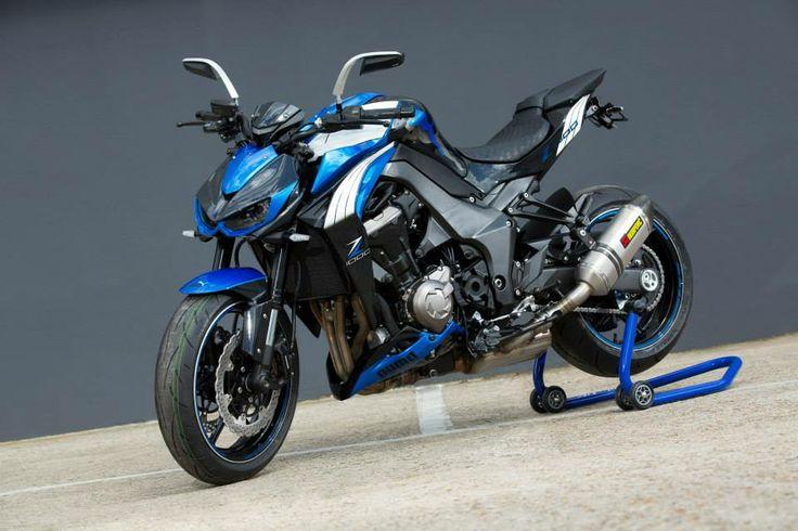 Modifikasi Motor Naked Bike - Kawasaki Z1000 Puma