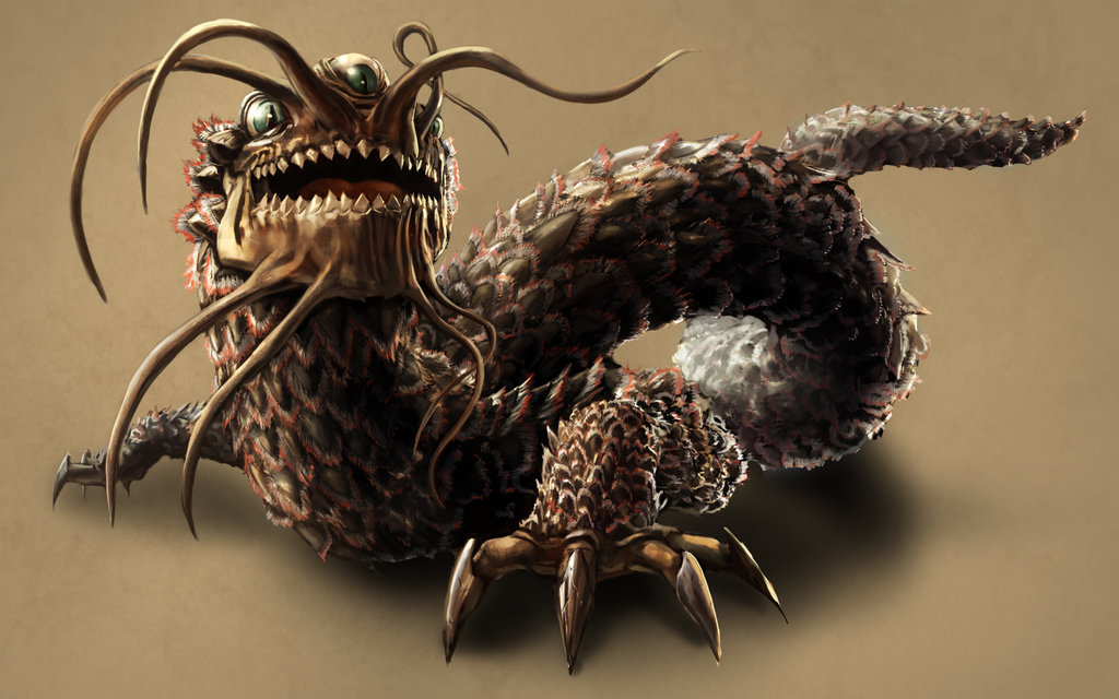 Penampakan Naga Lindwurm